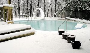 как да подготвим басейна си за зимата