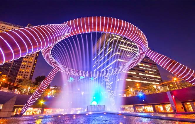 Фонтана на богатството, Сингапур
