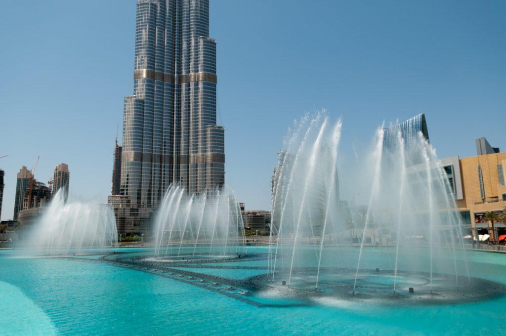 Фонтана Бурж Халифа, Дубай, ОАЕ