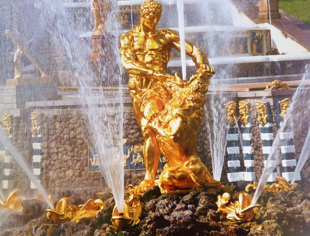 самсон фонтан